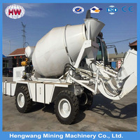 2016 china hengwang 8 cubic meters used concrete mixer truck with pump