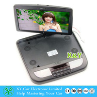 car Roof Mounted DVD,12v,HD Digital Panel Super Slim 12Inch Flip Up Screen roof DVD, dvd car XY-128DVD