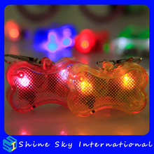 Multicolors dog bone safety tag, <strong>pet</strong> led flashing tag, popular products wholesales light <strong>pet</strong> tags FREE SHIPPING