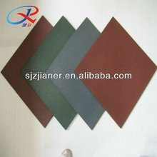 anti-static rubber tiles sheet for children playground