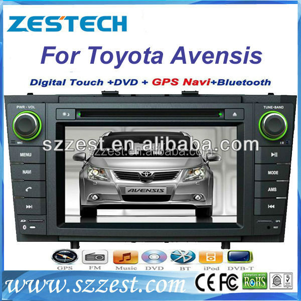 ZESTECH Good quality Car video for Toyota Avensis car auto dvd cd player audio
