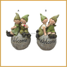 outdoor resin children garden figurines fairy wholesale