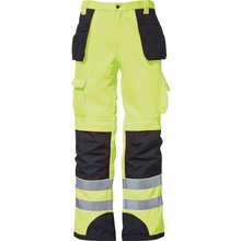 work wear pants New products 2017 cheap safety trousers used hi-vis reflective tape work pants