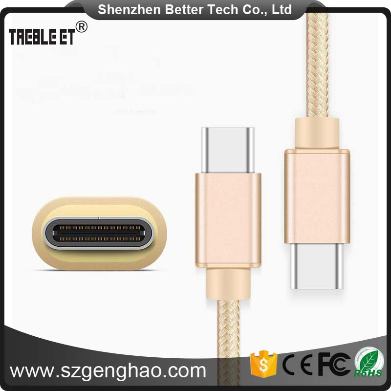 Custom printing 2 in 1 usb cable With Good After-sale Service