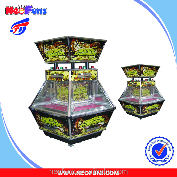 High Quality Indoor Casino Electronic Benthal Storehouse Coin Pusher Game Machine For Sale