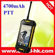 Snopow M9 IP68 quad core andorid 4.2 mobile phone with walkie talkie