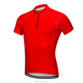 Quick-drying 1/4 Zipper Cycling Jersey For Men Outdoor Gym Sports Tops Corrective Short Sleeve Mountain Bike Bikes Team Suits