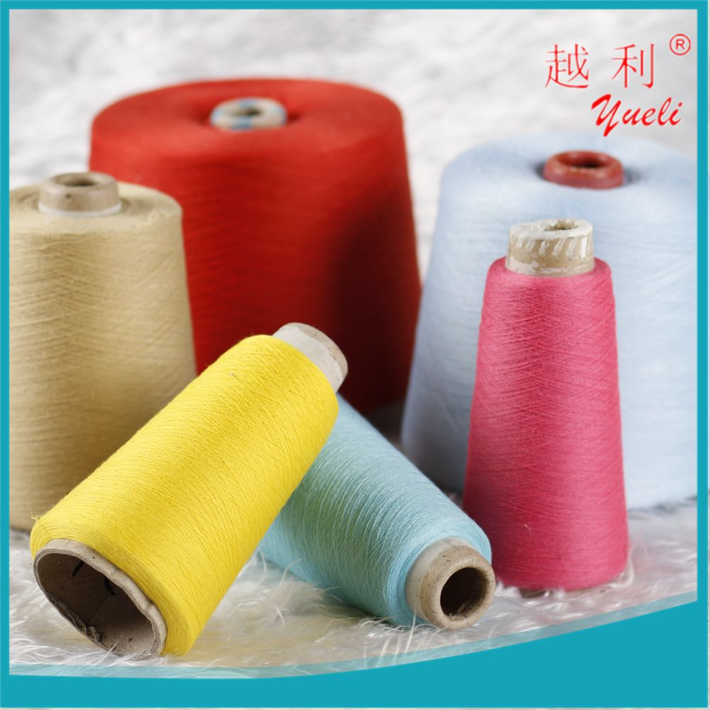 mop 100 mercerized weaving combed recycled price knitting cotton yarn