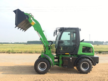 small farm tractor front end loader ZL15 with CE