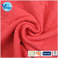 Wholesale 94% Polyester 6% Spandex Silk Brocade Jacquard Fabric