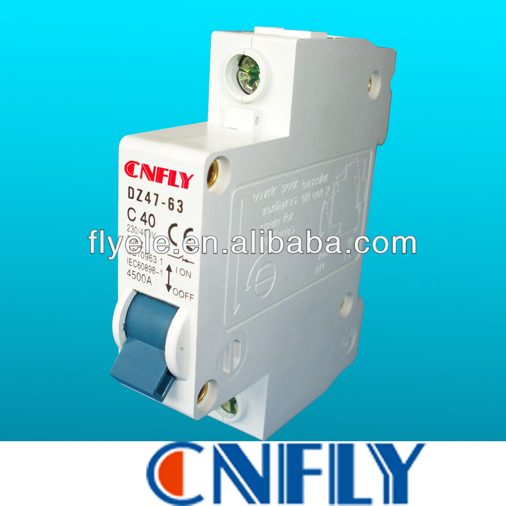 40A MCB Miniature Circuit Breaker