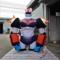 High Quality Inflatable Robot Cartoon Character