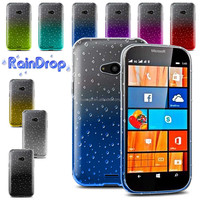Cell phone accessory Ultra thin waterdrop cell phone shell raindrop gel case for Microsoft Nokia Lumia 540 case wholesale