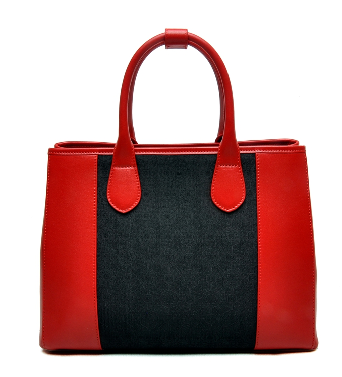 2017 Ladies desigherdecorative pattern Luxury Patent Leather Briefcase Tote leather women Bag