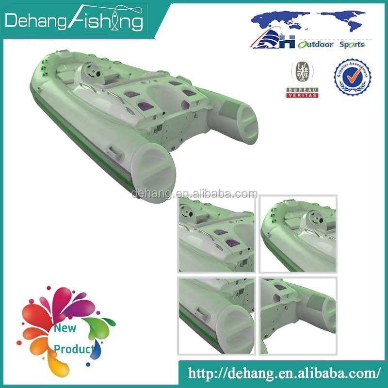 High Quality Wholesale Inflatable Hard Plastic Fishing Boat
