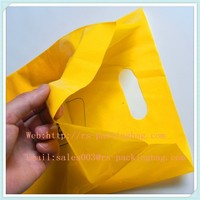 recyclable custom soft handle shopping bags