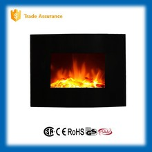 home decor mini curved wall fireplace electric heater (CSA ceritificated)