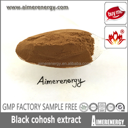 High Quality Black Cohosh Extract/Actein Cimicifugosideblack cohosh extract black cohosh p.e.