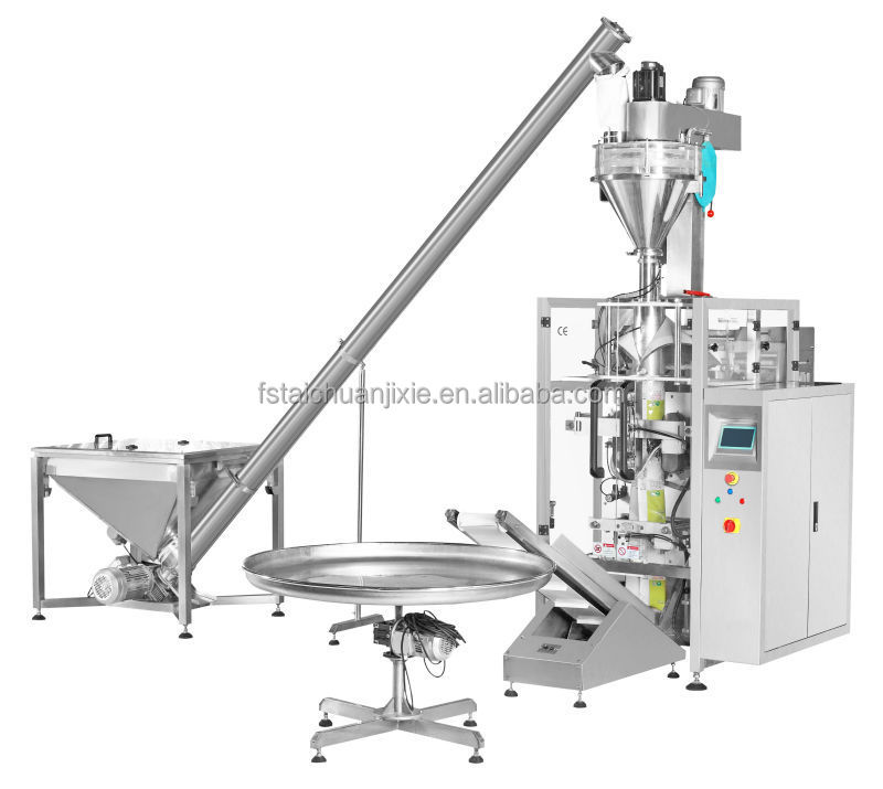 2015 Trade Assurance Product Vertical automatic powder packing machine price with screw measuring flour packaging TCLB-420DZ