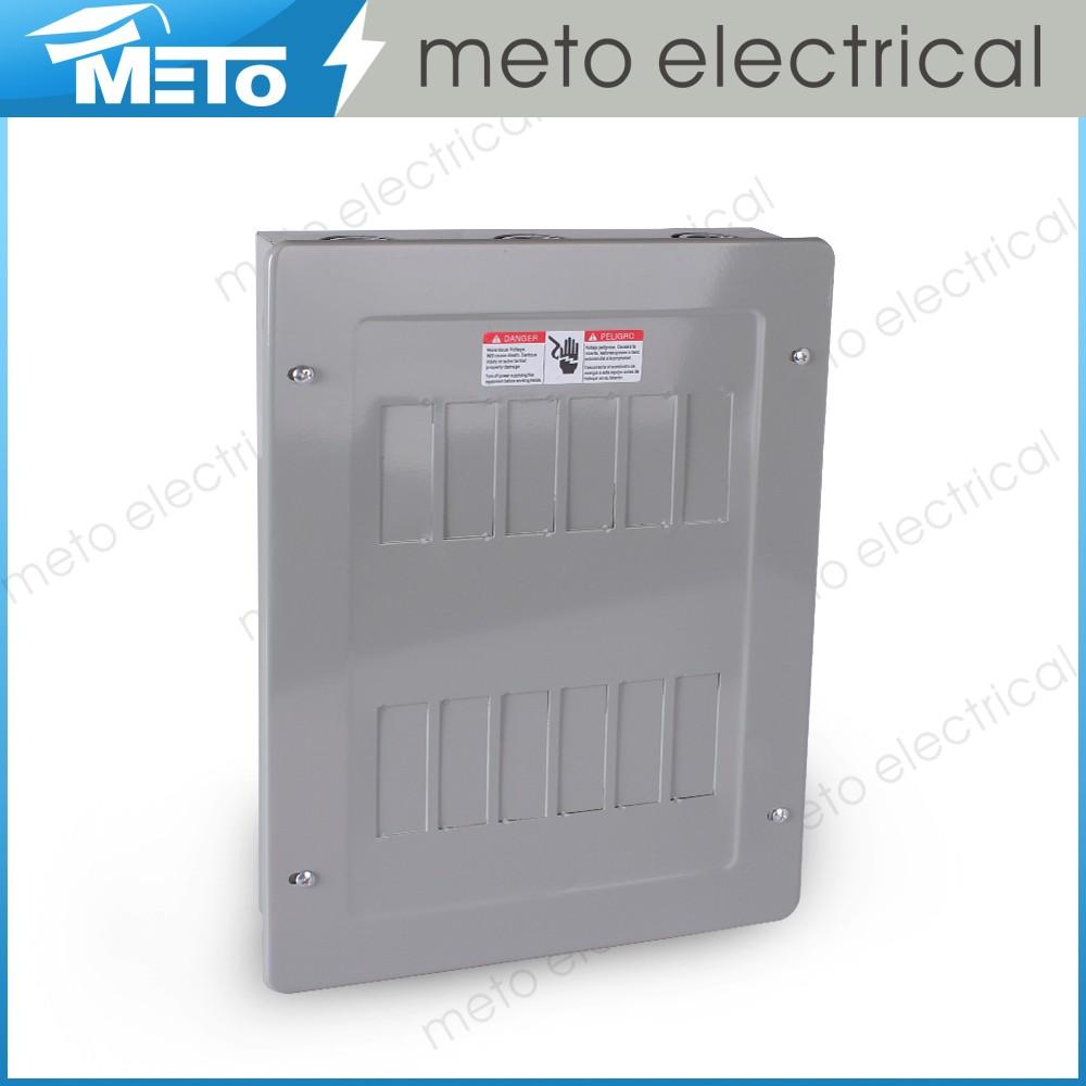 METO MTLS series 12 way residential electrical panel distribution circuit breaker box for sale