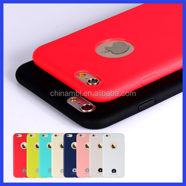 Tested for drop-shock silicone phone case and cover for iphone 6 6s plus