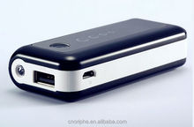 The newest portable foc power bank with led light for external battery, fashion wireless charger