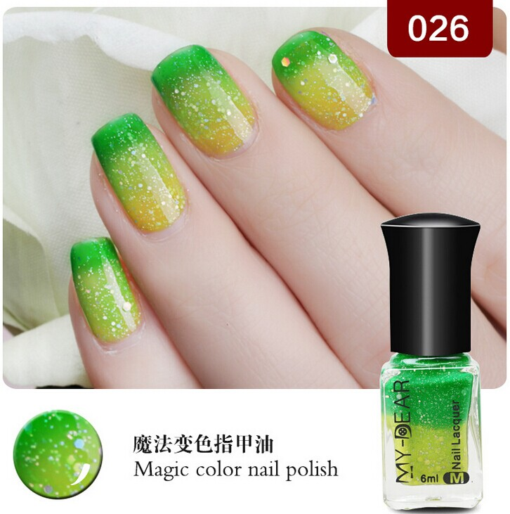 Hot Sell Double Sided Thermal Nail Polish