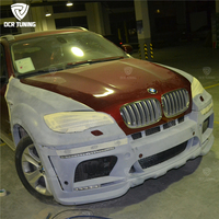 X6 Bod Kit For BMW X6 E71 Bodykit 2008 2009 2010 2011 2012 2013 X Series X6 E71 Body Kit HM Style Plastic Material
