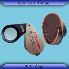 jewerly loupe only LED Lights with Buyer's logo service offered