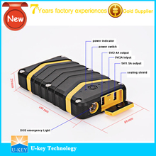 Universal power bank with double usb port,car jump starter power bank 40000 mah external bat