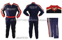 Custom sublimation printed Competition Indoor Kart Racing cordura high quality suit
