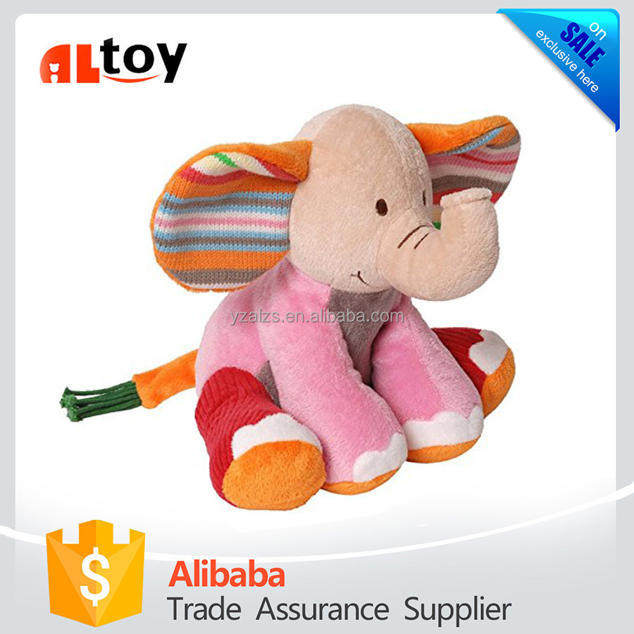 Happy Horse Fancy Baby Plush Doll Elephant Toy