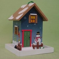 wooden Christmas cottage