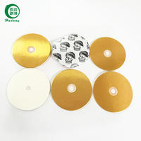 Agrochemical induction bottle cap breathable seal liner