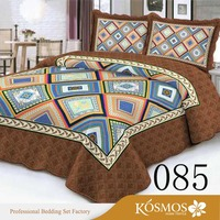 3pcs tongzhou home textile fitted bedspreads