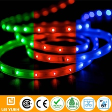 Outdoor High Quality Longest 25M single run Osram LED 24V waterproof IP66/67 LED RGB Strip Light for beach
