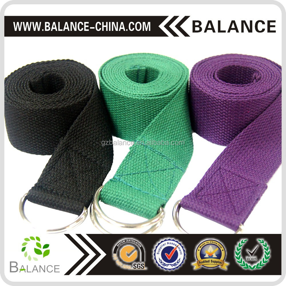 Yoga Strap/Cotton Polyester Exercise Strap/Gym Belt
