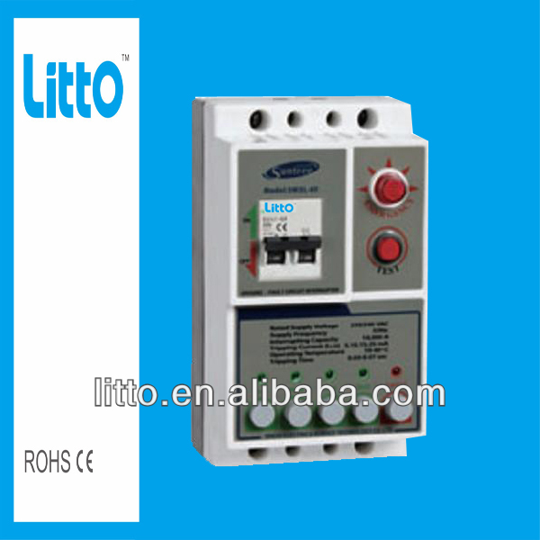 M3L-63 Moulded case and earth leakage RCCB circuit breaker 1-63A 230V 1P+N,with LED indicator