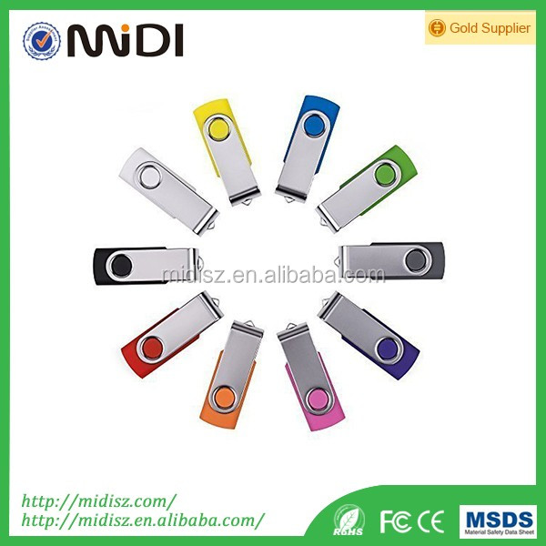 newest Bulk 8gb-32GB/ Gifts Swivel USB Flash Drives Cheap Wholesale