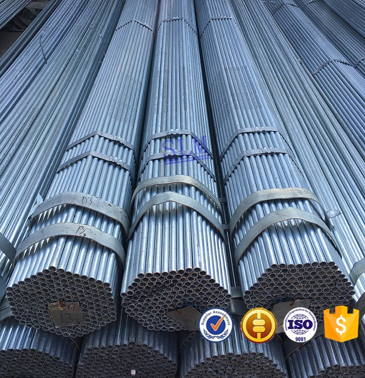 Hight quality products price per kg iron Galvanized steel pipe Hot dip galvanized steel pipe