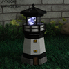 resin miniature lighthouse led lamp