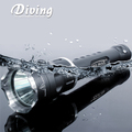 HI-MAX Rechargeable scuba led xhp 70 diving flashlight