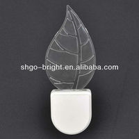 crystal baby sleep light , led kids plug night light , sensor wall lamp
