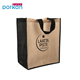 Wholesale Promotional Reusable Shoe Jute Grocery Shopping Tote Bag