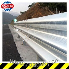 roadside expressway safety crash barrier installing guardrail