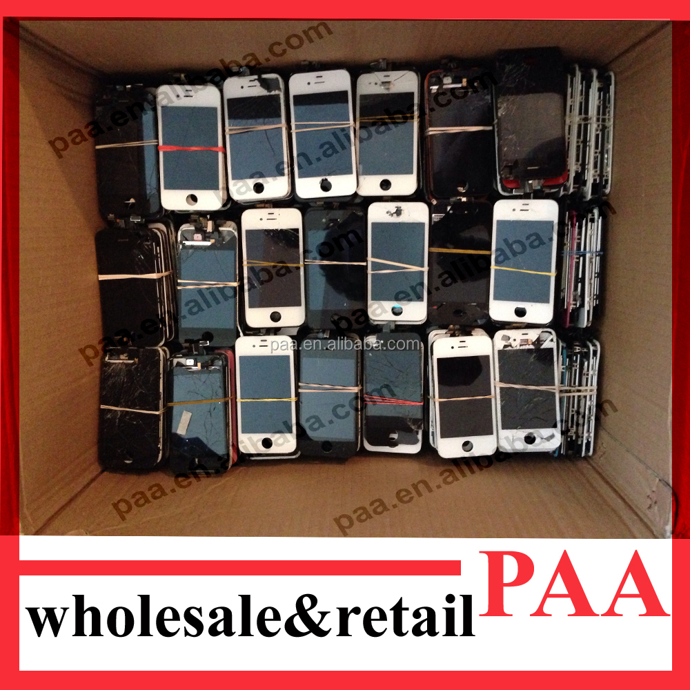 recycle broken lcds display screen for iphone 4g 4s 5 5s 5c 6 6 plus