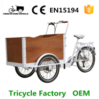 front wooden square box china tricycle cargo