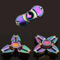 High Quality Tri Hand Spinner Rainbow Fidget Steel Spinner Finger Toys