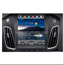 "tesla style 10.4""inch Android car radio for FORD Focus 2012 2015 multimedia car audio GPS navigation system 12.1"" auto"