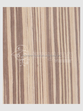 2*8 recon Zebrano face veneer for plywood